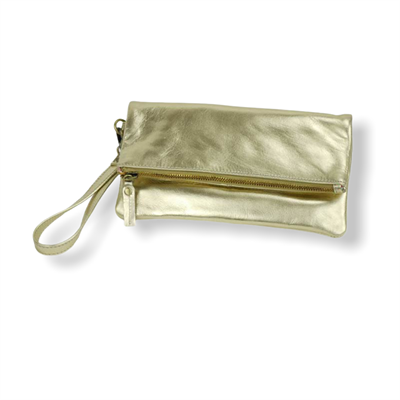 Rimor Clutch Purse (metallic gold)