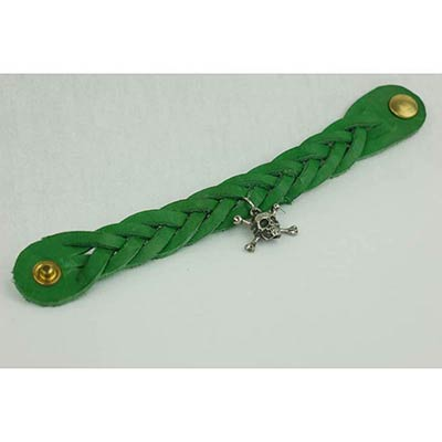 Kellan Bracelet with Charm (green)