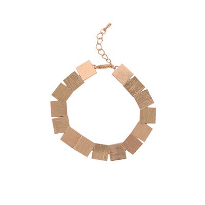 Corine Square Bracelet (Rose Gold)