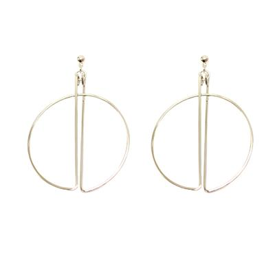 Aleria Hoop Earrings (Silver)