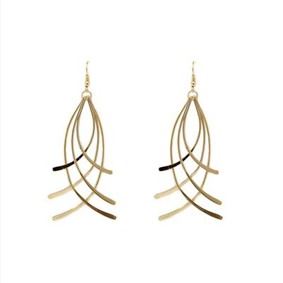 Annabelle Entwined Earrings (Gold)