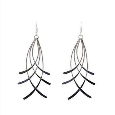 Annabelle Entwined Earrings (Silver)