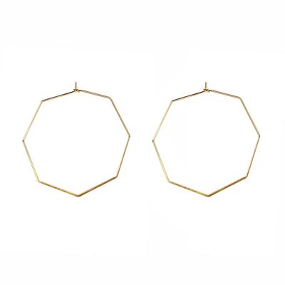 Iro Septagon Earrings (Gold)
