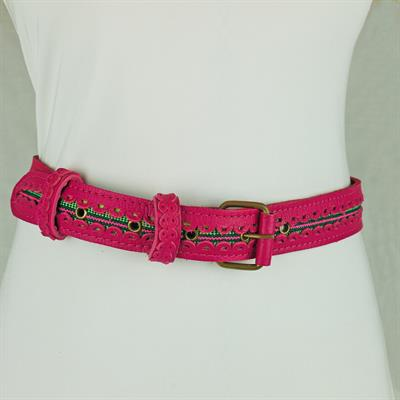 Ibiza belt (Hot Pink/multi)