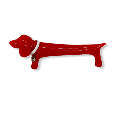 Dachshund Sausage Dog Pen (Red)