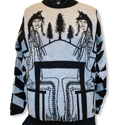 Poconos Sweater (grey/black)