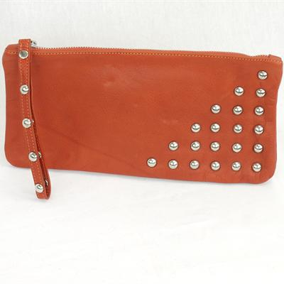 Large studded Purse (tan)